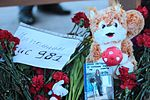 Memorial at Rostov-on-Don Airport for victims of Flydubai Flight 981 (3).jpg