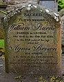 Memorial to Robert Burns's parents, Alloway Auld Kirk 2017-05-17.jpg