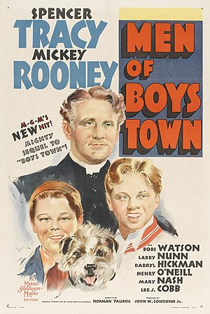 Men of Boys Town - Theatrical release poster