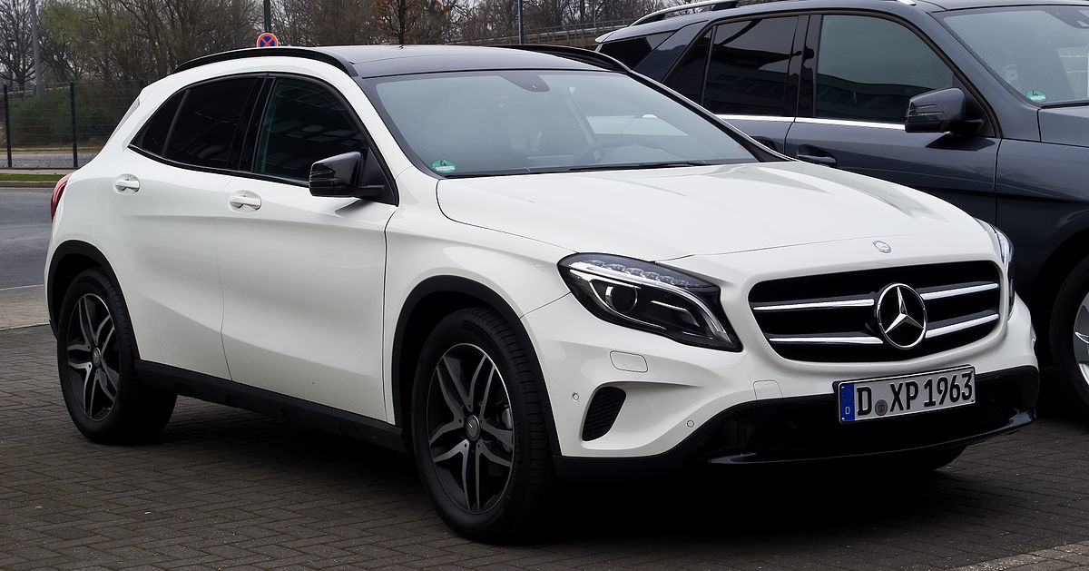 Mercedes benz classe gla wikipedia for Mercedes benz gla 250 price