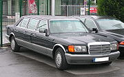Mercedes-Benz W126 stretch limousine