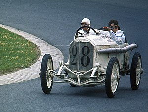 Mercedes-Benz in motorsport -  1914 Daimler-Motoren-Gesellschaft Mercedes 35 hp racing car