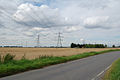 Meredyke Road - B1392 and Pylons - geograph.org.uk - 508084.jpg
