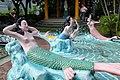 Mermaids relax in the waves, Haw Par Villa (14607179510).jpg