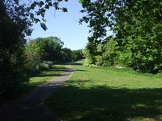 Merthyr Dyfan - Image: Merthyr Dyfan park