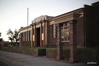 Mesquite High School Gymnasium - Image: Mesquite High School Gymnasium