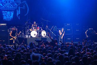 Marduk (band) - Marduk performing live at Metalmania, 2008