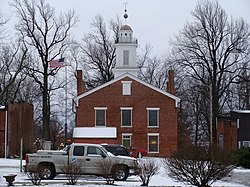 Metamora Historic Courthouse, from East Chatham Street