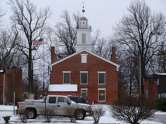 Woodford County, Illinois - Image: Metamora Courthouse 008