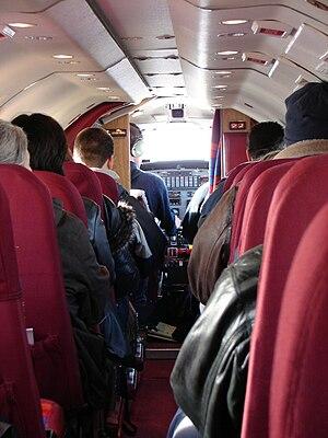 Bearskin Airlines - Bearskin Metroliner interior