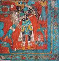Mexico Real Cafe - eagle warrior from mural paintings.jpg