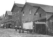 Approximately 400 men voted for Miami's incorporation in 1896 in the building to the left.