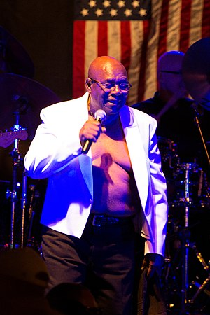 Mighty Sam McClain - McClain performing in 2013.