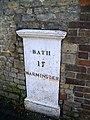 Milepost, Warminster - geograph.org.uk - 1585909.jpg