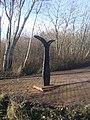 Millennium Milepost on Roebuck Lane - Smethwick - geograph.org.uk - 1122856.jpg
