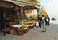 Millo Bortoluzzi Gemüsemarkt in Venedig 1894.jpg