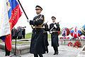 Ministrica Andreja Katič se je z delegacijo poklonila padlim v vojni za Slovenijo 1991 09.jpg
