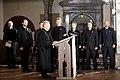 Ministru prezidents Valdis Dombrovskis piedalās Ekumēniskajā dievkalpojumā Doma baznīcā (8194722523).jpg