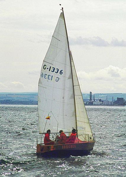 File:Minitonner IORchen vor Edinburgh.jpg