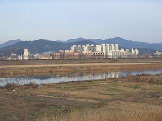 Municipal City in Yeongnam, South Korea