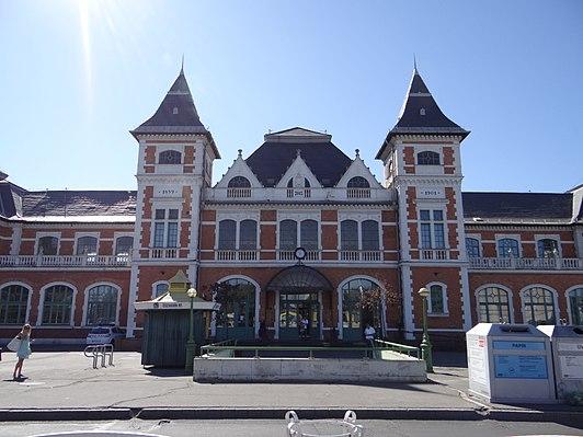 Miskolc Tiszai railway station