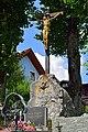 Mitterbach am Erlaufsee - Friedhofskreuz am evangelischen Friedhof.jpg