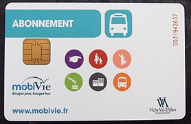 Carte à puce MobiVie