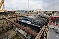 Mobil tunnel forms Stalform for Moscow metro station. Механизированная опалубка для метро.jpg