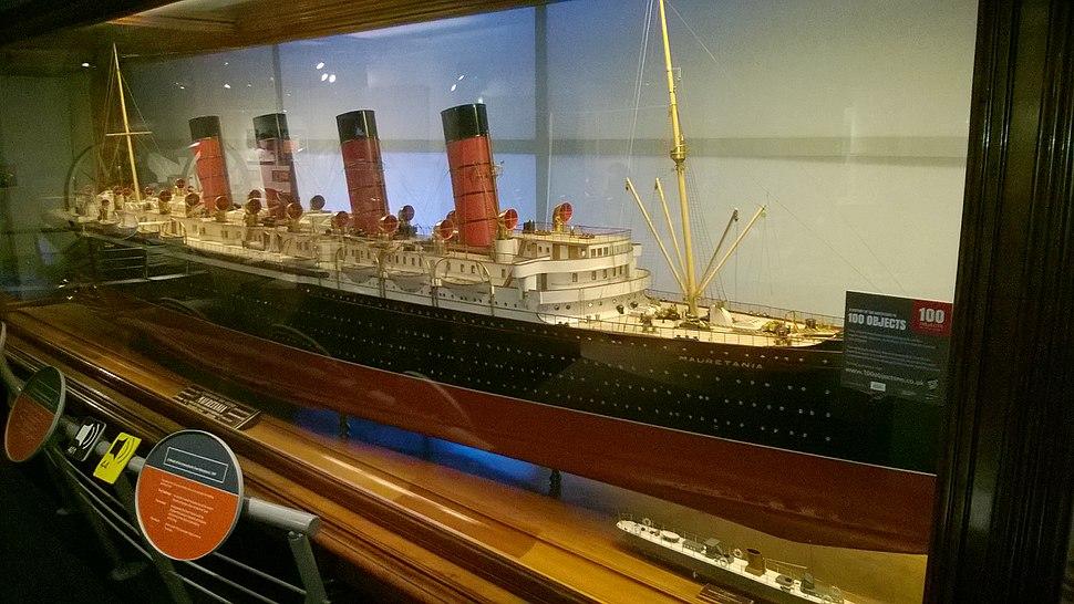 Model of RMS Mauretania