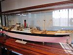 Model of SS Pinar del Rio (ship), Merseyside Maritime Museum.JPG