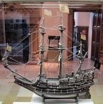 Modellino della nave de maagd van gent, 1674, 01.JPG