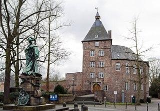 Moers Place in North Rhine-Westphalia, Germany