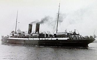 SS Mona's Isle (1905) - Image: Mona's Isle in the Mersey