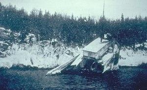 SS Monarch - Image: Monarch Wreck