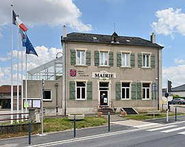 The town hall in Mondorff