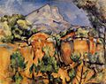 Mont Sainte-Victoire Seen from the Bibemus Quarry 1897 Paul Cézanne.jpg