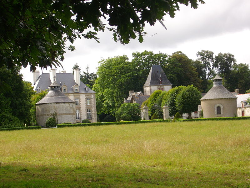 Haute-Touche castle in Monterrein (Morbihan, France)