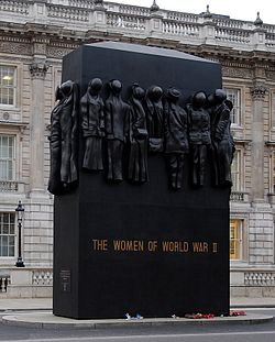 National Monument to the Women of World War II in London