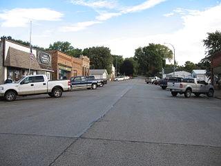 Moorhead, Iowa City in Iowa, United States