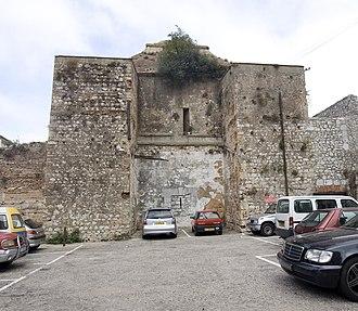 Moorish Gibraltar - Image: Moorish gatehouse Gibraltar