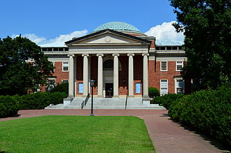 University of North Carolina at Chapel Hill - The Morehead Planetarium, designed by Eggers & Higgins, first opened in 1949.