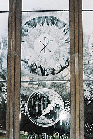 St Nicholas' Church, Moreton - Window number 3