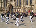 Morris dancers, York (25995896323).jpg