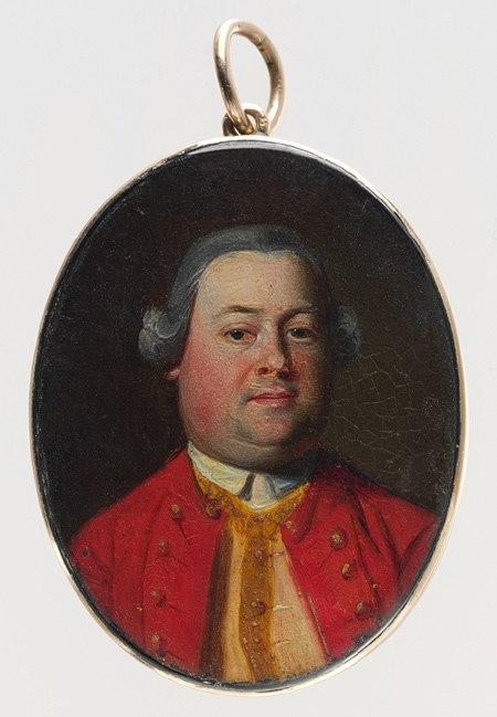 Moses Gill - John Singleton Copley, circa 1759