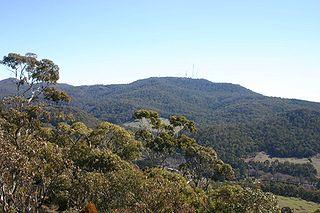 Mount Canobolas mountain in Australia