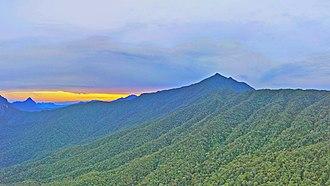 Mount Mulu - Mount Mulu Summit in the evening