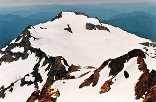 White Glacier (Mount Tom) glacier in Washington state, United States