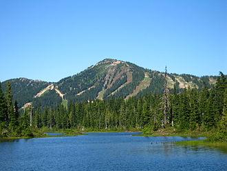 Mount Washington (British Columbia) - Mount Washington in the Summer