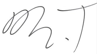 Mr. T - Image: Mr. T signature
