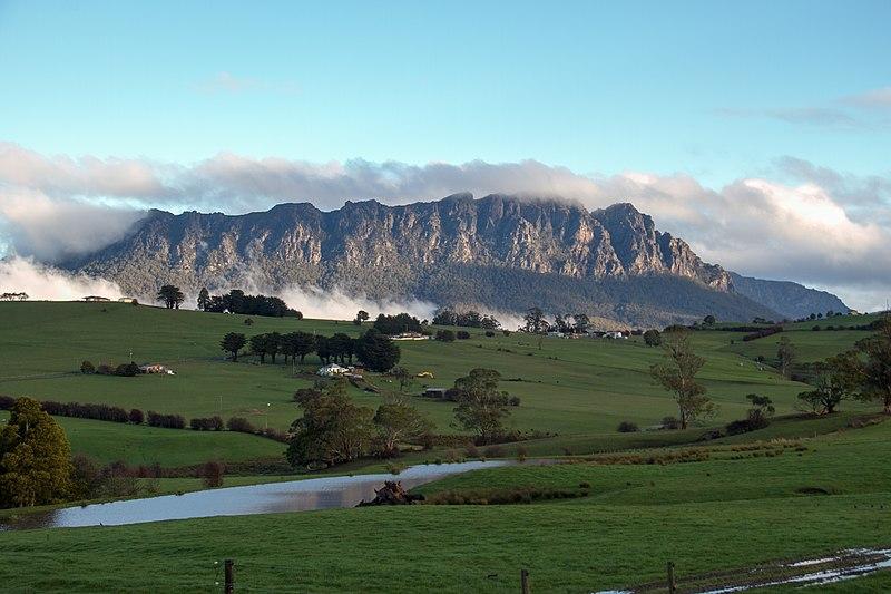 Cradle Mountain en Tasmanie